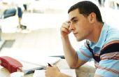 Stress statistieken voor studenten
