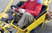 How to Convert een grasmaaier verticale Motor Drive naar een Go Kart