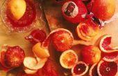 Hoe te verwijderen een rook geur met oranje schillen