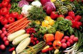 Welke oorzaken vruchten & groenten te krijgen hun kleur?