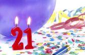 21e verjaardag Cake ideeën voor jongens