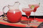 Hoe maak je een watermeloen-Margarita
