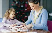 Hoe om uw kinderen te schrijven dank-je notities