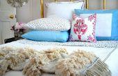 Hoe maak je een deken Marokkaanse bruiloft