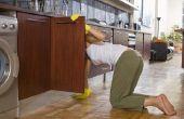 Hoe te schilderen keukenkasten met Benjamin Moore verf