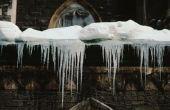 Hoe een Dam van het ijs te breken op uw dak
