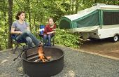 Hoe schoon het doek van een Tent-Trailer