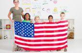 Ideeën voor het onderwijs over Amerikaanse symbolen voor eerste klassers