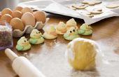 Hoe om te voorkomen dat koekjesdeeg vasthouden aan een oppervlak zonder gebruik te maken van veel van meel