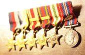 Hoe vindt u verdiende Militaire eretekens