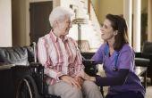 Programma's om te zorgen voor een handicap volwassene thuis