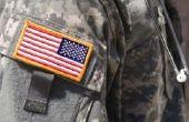 Betekenissen van de Patches op leger uniformen