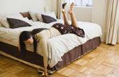Hoe te te verfraaien van kleine kamer als u wilt opnemen van een Queensize Bed