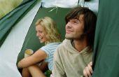 Tent kamperen in Orange County, Californië