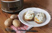 Hoe te bakken van de aardappelen in een Crock-Pot