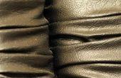 Hoe de zorg voor Metallic leer