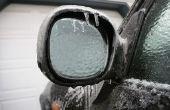 Home Remedies voor reiniging Ice off van een auto