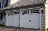 Hoe maak je een Garage deur Look Cottage stijl
