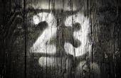 Wat Is de betekenis van het getal 23?