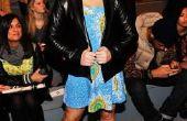 Manieren voor een tienermeisje te dragen van een leren jas