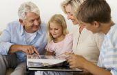 Hoe maak je een grootouder waardering boek