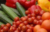 Hoe goed wassen verse groenten
