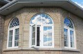 Manieren om te maken gordijnen voor een koepel gevormde venster