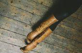 Hoe te dragen van de legging met laarzen