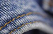 Hoe leed Jeans zonder gebruik te maken van schuurpapier