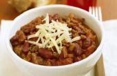 Kunt u het koken van vlees voor Chili vooruit van de tijd?