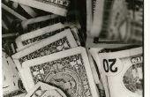 Verschil tussen kapitaal en inkomsten ontvangsten