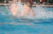 Chloor niveaus in zwembaden