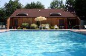 Doe het zelf zwembad dek reparatie