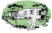 How to Build een bedekking van het dak voor een stacaravan