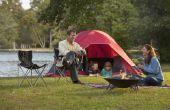 Wat kampeeruitrusting nodig Is om te kamperen met kinderen?