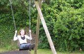 Lijst van plannen & materialen voor het bouwen van een kinder schommels