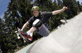 Hoe te snijden een skateboard kom