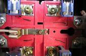 Hoe Rewire een 3 fase Motor aan een éénfasig