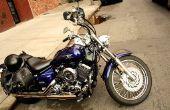 Het oplossen van een motorfiets Radiator lek