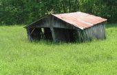 How to Build een goedkope paard schuilplaats