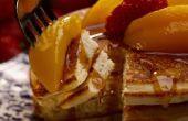 Hoe maak je pannenkoeken & versieren met vruchten