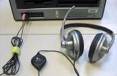 Het gebruik van een hoofdtelefoon met microfoon