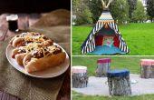 Hoe je een kamperen dit Weekend (In uw eigen achtertuin)