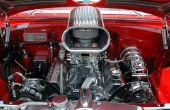 Waar ligt de Radiator van een auto?