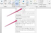 Hoe teken je kringen in Microsoft Word