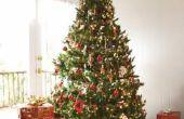 Hoe maak je een kerstboom met een vattenproducenten & Mesh materiaal