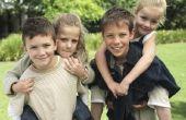 Oudere broers en zussen hebben invloed op jongere broers en zussen in slecht gedrag?