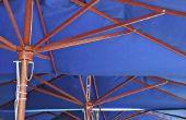 How to Paint Patio paraplu 's