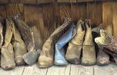 Materialen gebruikt voor het maken van schoenen