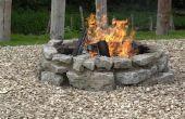 De meest populaire rotsen voor vuurkuilen